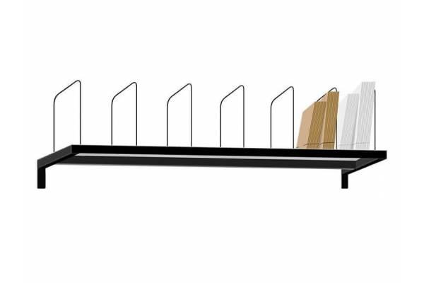 Viršutinė lentyna su skyriais 80cm RedSteel