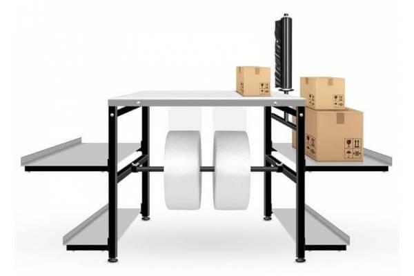 Pagalbinis pakavimo stalas 80x80cm RedSteel