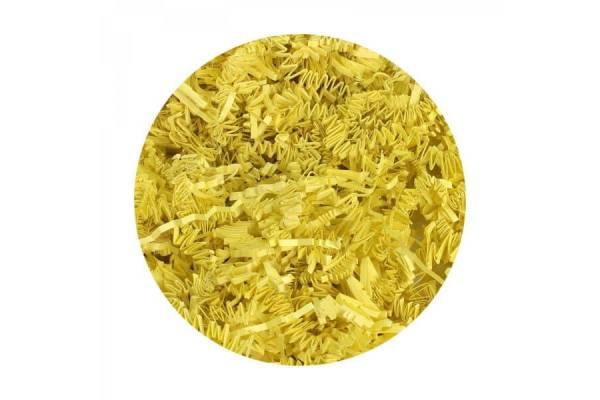 Popierinės drožlės, užpildai (100g) (geltona)