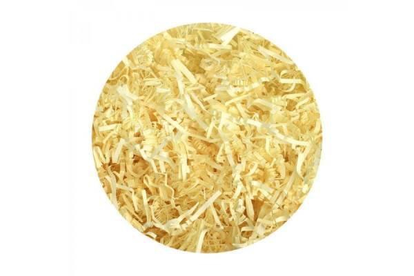 Popierinės drožlės, užpildai (100g) (natūrali gelsva)