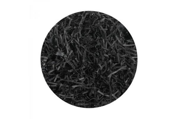 Popierinės drožlės, užpildai (100g) (juoda)
