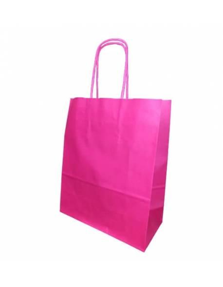 Gift bag 18cm x 8cm x 22cm Pink