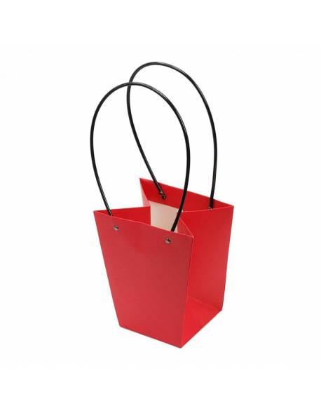 Kartoninis dovanų krepšelis 20cm x 17cm x 11.5cm