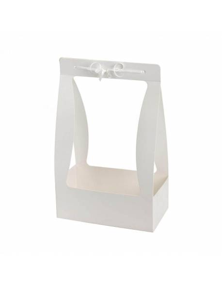 Sulankstoma dėžutė su rankena (Balta) 22x11,5x35cm