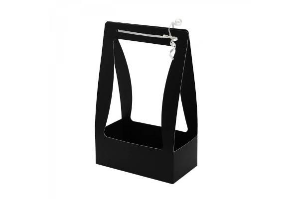 Sulankstoma dėžutė su rankena (Juoda) 22x11,5x35cm