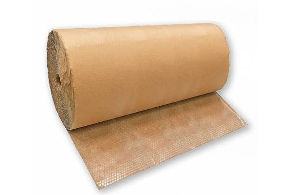 Bubble wrapping film + KRAFT paper 1.50m x 50m