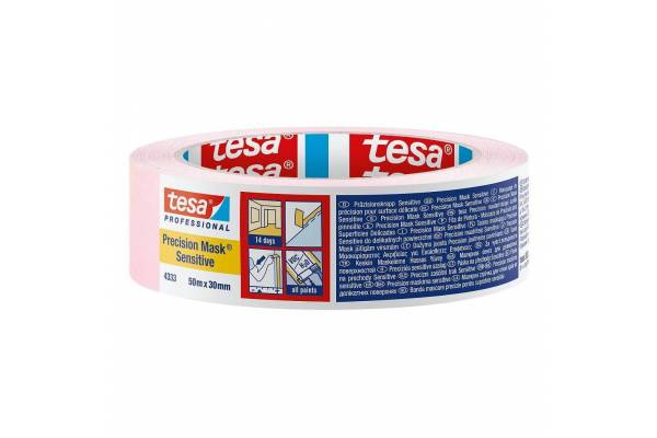 Painting tape tesa® Precision Mask® 30mm x 50m