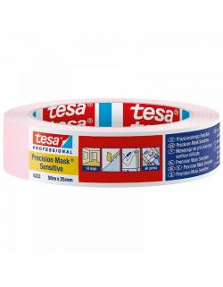 Painting tape tesa® Precision Mask® 25mm x 50m