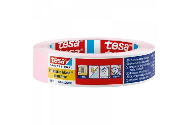Painting tape tesa® Precision Mask® 25mm x 50m