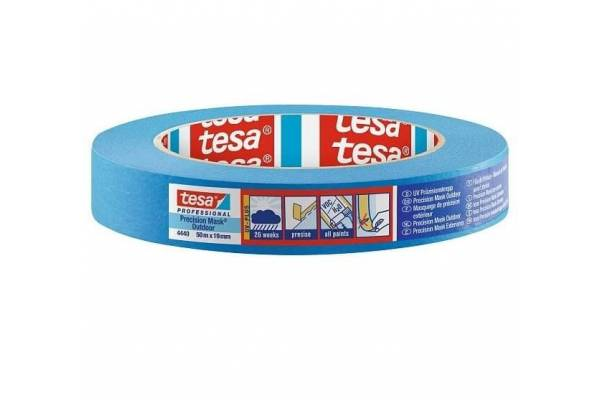 Painting tape tesa® 4440 for outdoor work 19mm x 50m