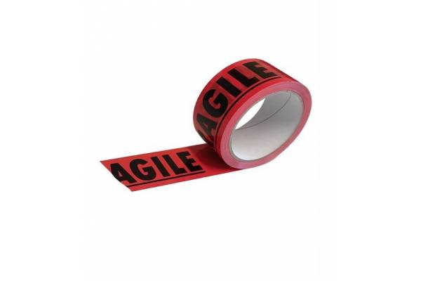 Adhesive warning tape FRAGILE 48mm x 66m