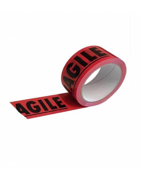 Adhesive warning tape FRAGILE 48mm x 66m