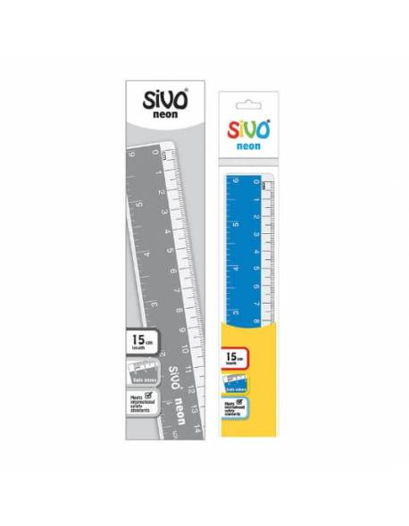 Ruler SiVO 15cm