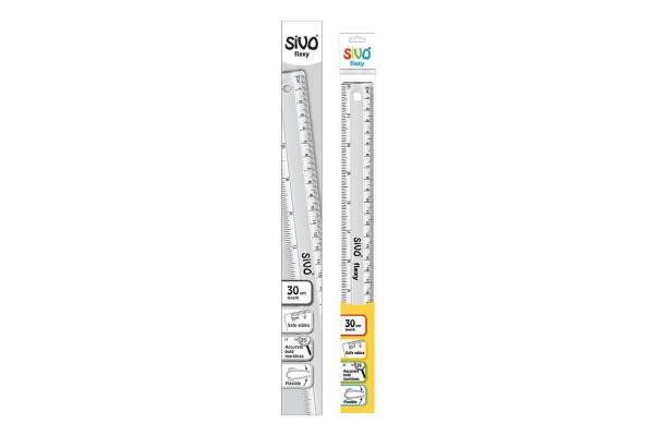 Liniuotė SiVO Flexy lanksti 30cm