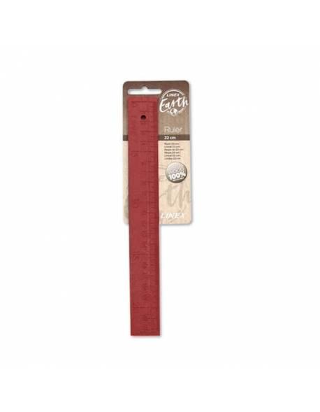 Ruler Linex Rewood 22cm