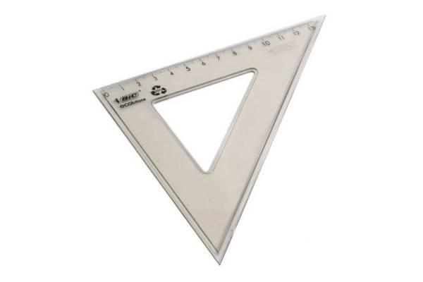 Liniuotė trikampė BIC 21cm