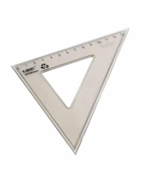 Ruler triangle BIC 21cm