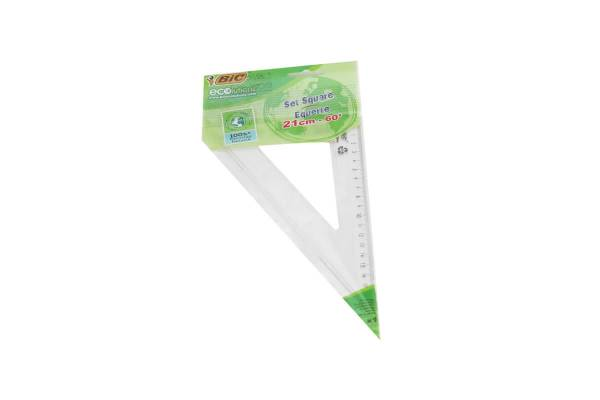 Ruler triangle BIC 21cm