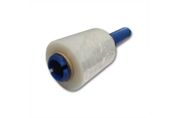 Įrankis stretch plėvelei plastikinis mėlynas 38mm ritei mini stretch