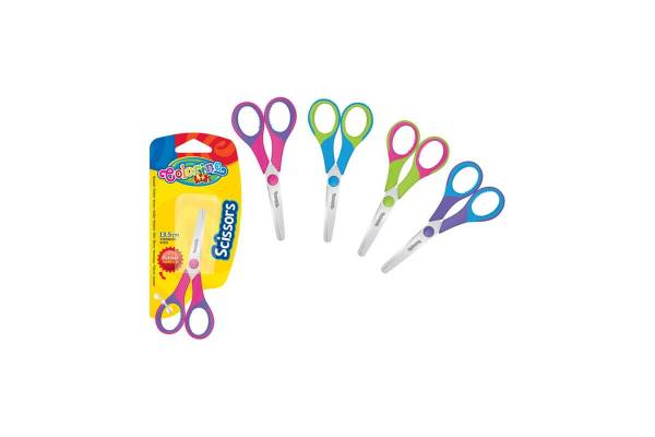 Scissors Colorino Kids, 13,5cm