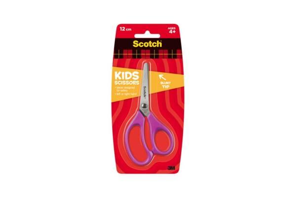 Vaikiškos žirklės SCOTCH KIDS 12cm