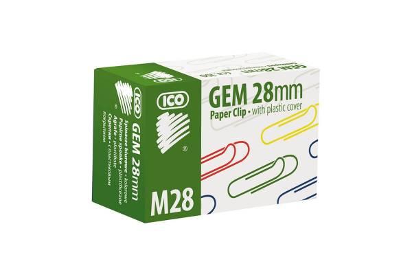Spalvotos sąvaržėlės ICO, 28 mm, (dėž. 100 vnt.) 5997072188918 Z2
