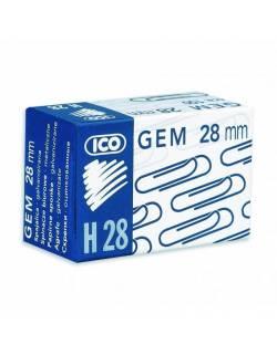 Paper clips ICO, 28mm 100pcs.
