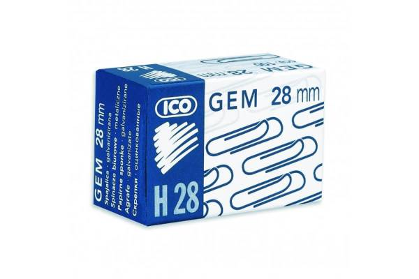 Staples ICO, 28mm 100pcs.