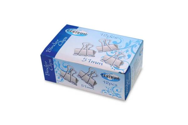 Clamps CENTRUM, 51mm / 12pcs.