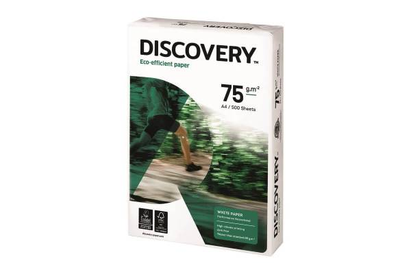 Paper DISCOVERY 500 sheets, 75g/m2, A4