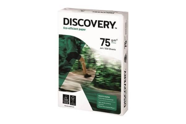 Popierius DISCOVERY 500 lapų, 75g/m2, A4