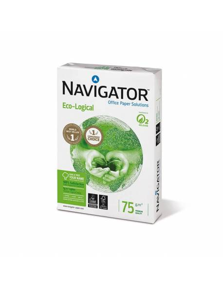 Paper NAVIGATOR ECO-LOGICAL 500 sheets, 75g/m2, A4
