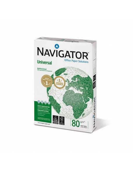 Popierius NAVIGATOR UNIVERSAL 500 lapų, 80g/m2, A4