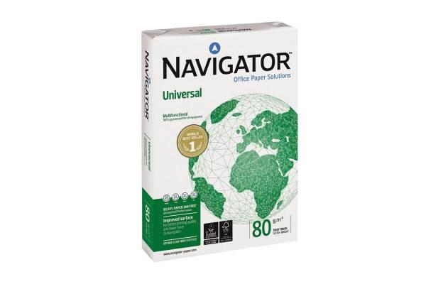 Popierius NAVIGATOR UNIVERSAL 500 lapų, 80g/m2, A5