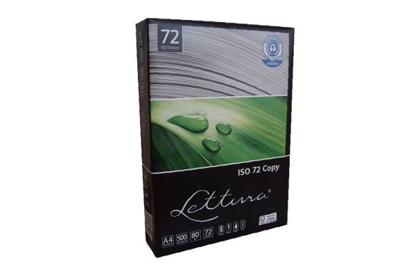 Paper LETTURA 72, 100% ECO, 500 sheets, 80g/m2, A4