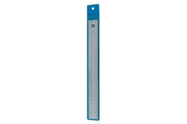 Metal ruler WEDO, 30cm