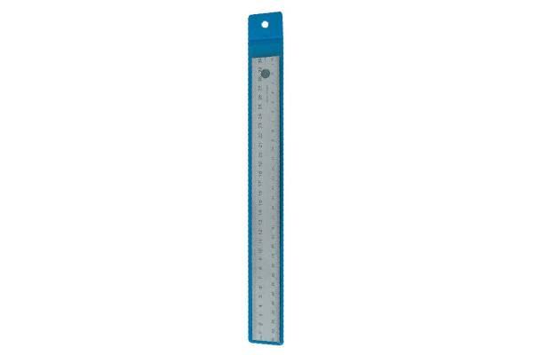 Metalinė liniuotė WEDO, 30cm