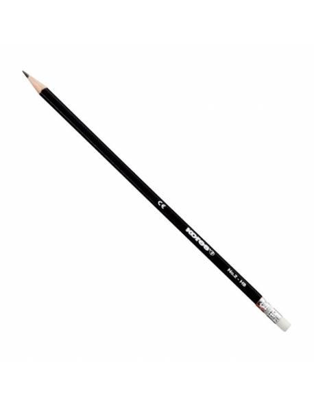 Pencil KORES GRAFITO HB, with eraser