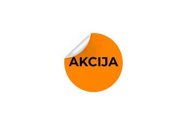 Lipnios etiketės Ø47mm - AKCIJA