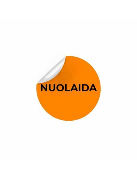 """Lipnios, apvalios etiketės Ø47mm """"NUOLAIDA"""""""