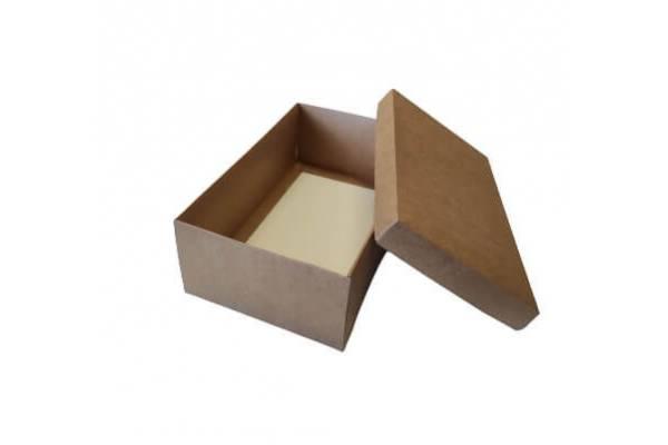 Cardboard box of 2 parts (M) 220x140x80mm