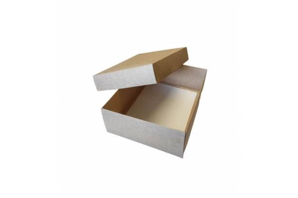 Cardboard box of 2 parts 280x210x90mm (M)