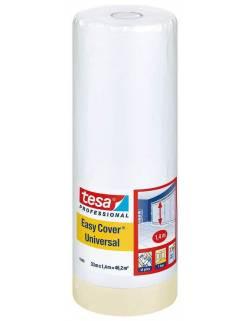 Apsauginė plėvelė su lipnia juosta tesa® 4368 Easy Cover 140cmx33m