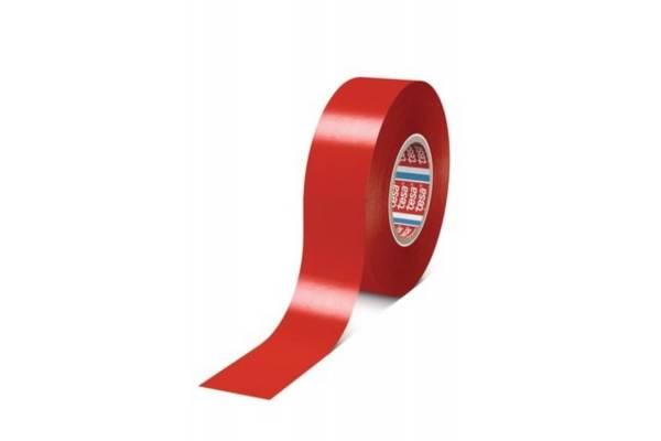 tesa flex® 4163 Premium Multipurpose Soft PVC Tape red 19mmx33m