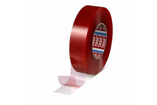 Double-sided transparent adhesive tape tesa® 04965 19mm x 50m