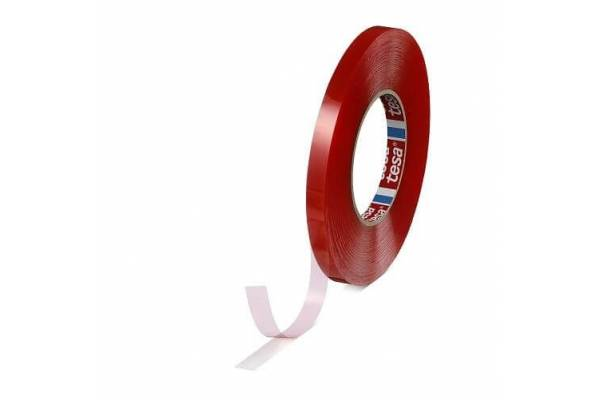 Double-sided transparent adhesive tape tesa® 04965 9mm x 50m