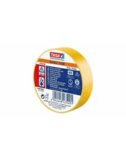 tesa flex PVC insulation tape 53988 19mmx20m yellow