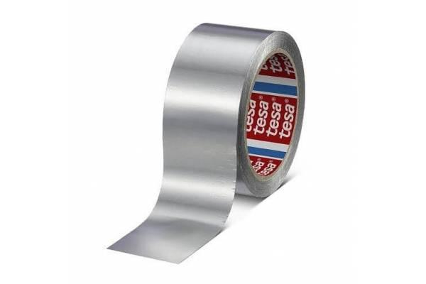 Adhesive aluminum tape tesa® 60630 50mm x 50m