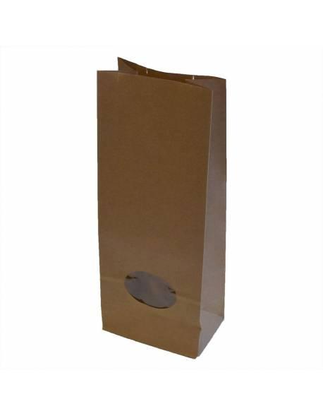 Popieriniai maišeliai su langeliu 105x65x270mm/50vnt.