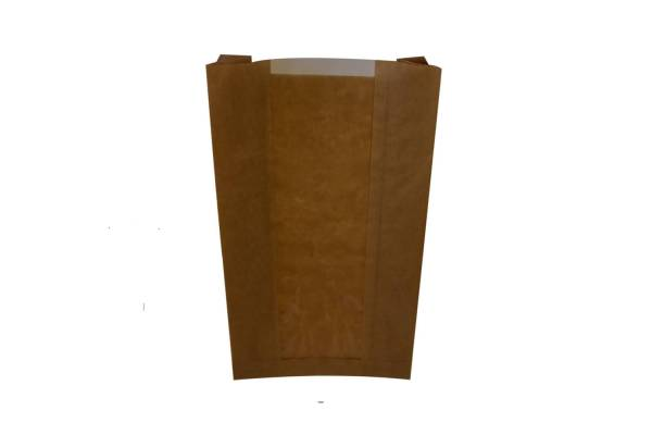 Paper bags with a window 150x60x280mm / 100pcs.